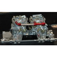 EDELBROCK DUAL QUAD ENDURASHINE INTAKE & CARBURETOR KIT + HARDWARE CHEV VORTEC