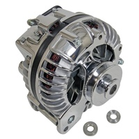 CHRYSLER 80AMP 1 WIRE ALTERNATOR EMA812119 CHROME INT REG V-BELT