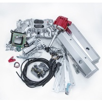 DELUXE COMPLETE ENGINE DRESS UP KIT EMAJM6500DLX SUIT CHEV SB 283-350 V8