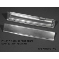 Door Bottom Rust Repair (Suit 1935-36 Ford LHS Inner & Outer) (EMS117L)