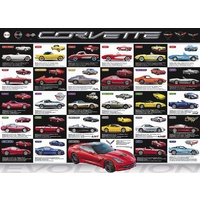 EUR-6000-0683 Corvette Evolution Jigsaw Puzzle 1000 Piece