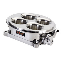 FAST 1375CFM HIGH FLOW 4150 TYPE 4BBL THROTTLE BODY INC TPS POLISHED FAST307603P