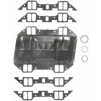 Fel-Pro FE1215 Chrysler BB 413-440 Valley Pan Intake Manifold Gasket Set