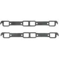 FELPRO EXHAUST HEADER GASKET SET RECTANGLE PORT CHRYSLER 361-440 WEDGE FE1414