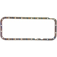 FELPRO OIL PAN GASKET CORK SUIT CHRYSLER BB 361-440 V8 FEOS11729C-1