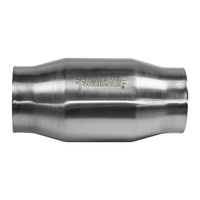 "Flowmaster FLO2000125 Universal SS Metallic Catalytic Converter 3.00"" Inlet/Outlet"