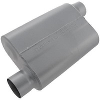 "FLOWMASTER 40 SERIES STEEL MUFFLER 3"" FLO43043 OFFSET IN/OFFSET OUT"