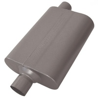 "FLOWMASTER DELTA FLOW 40 SERIES MUFFLER FLO842442, 2.25""CENTRE IN/OFFSET OUT"