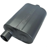 "FLOWMASTER DELTA FLOW 44 MUFFLER FLO842546 OFFSET 2.5"" IN/CENTER OUT 19"" LONG"