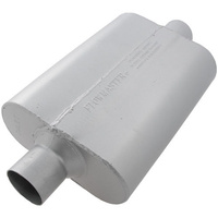 "FLOWMASTER DELTA FLOW 40 MUFFLER FLO942540 CENTER 2.5"" INLET / CENTER OUTLET"