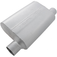 "FLOWMASTER DELTA FLOW 40 SERIES MUFFLER FLO942544 OFFSET 2.5"" IN/OFFSET OUT"