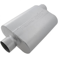 "FLOWMASTER DELTA FLOW 40 SERIES MUFFLER CENTRE 3"" IN/ 3"" OFFSET OUT FLO943042"