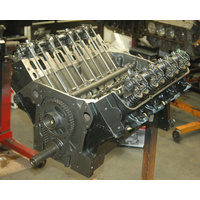 FORD FE 330ci V8 RE-MANUFACTURED LONG BLOCK & HAS NO TIN WARE