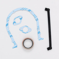 FELPRO TIMING COVER GASKET WITH SEAL CHEV BB FPTCS45060