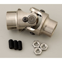 "FLAMING RIVER UNIVERSAL BILLET STEERING JOINT 13/16""-36 X 3/4""DD FR1719DD"