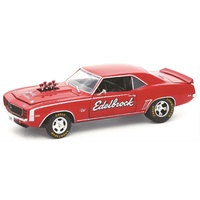 ED40300-61B Edelbrock 1969 Chevy Camaro 1:24 Scale Diecast Model by M2