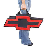 GENUINE HOTROD HARDWARE - CHEVROLET BOWTIE DUFFLE CANVAS BAG - GBS-BT2000BR