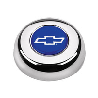 GRANT CHROME BOWTIE HORN BUTTON FOR CLASSIC/CHALLENGER STEERING WHEELS GR5630