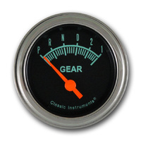 "Classic Instruments (GS07SLF) G-Stock 2 1/8"" Gear Indicator"