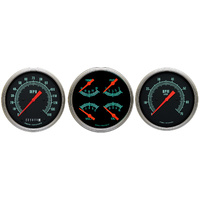 "Classic Instruments (GS53SLF) G-Stock 4 5/8"" Speedo & Tach & Quad"