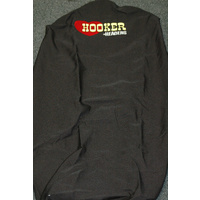 LOVE HOOKER HEADERS BLACK UNIVERSAL SEAT COVER WITH LOGO HK-THROW