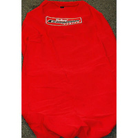 HOLLEY COMPETITION SERIES RED UNIVERSAL SEAT COVER WITH LOGO HO-THROW