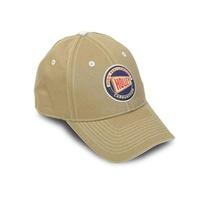 Ball Cap Cotton Holley High Performance Carburetion Logo Khaki Clasp Each