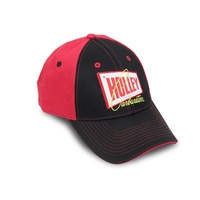 Ball Cap Cotton Holley Carburetion Logo Red/Black Clasp Each
