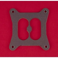 Carburettor Mounting Gasket Paper 4-Barrel Square Bore 2-Hole Divided Center .313 in. Thick Each