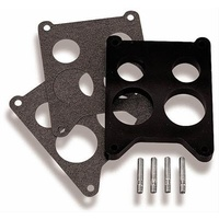 Carburettor Mounting Gasket Phenolic 4-Barrel Spread Bore 4-Hole .625 in. Thick Each