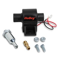 "HOLLEY MIGHTY MITE ELECTRIC FUEL PUMP 32 GPH 4-7 PSI 1/8"" NPT IN/OUT HO12-427"
