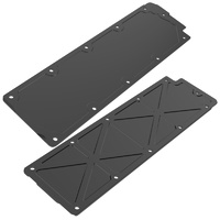 Holley 241-265 GM LS2//LS3//LS7//LSX Trussed Valley Cover Black Anodized Finish