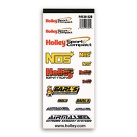 "Holley HO36-326 Vinyl Decal Sheet Sport Compact 10.5"" x 4.5"""