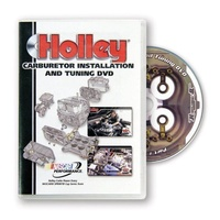 HOLLEY CARBURETOR INSTALLATION AND TUNING DVD HO36-381