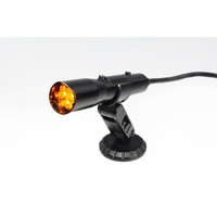 Holley Sniper Stand Alone Shift Light HO840008 Black, Yellow LED, Direct Wire