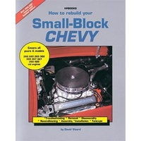HOW TO REBUILD YOUR SMALL BLOCK CHEVY BOOK HPB-HP1029 PAPERBACK 168 PAGE