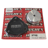 HUGHES PERFORMANCE BILLET 2ND GEAR SERVO & COVER KIT SUIT GM POWERGLIDE HTHP7486