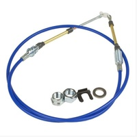 Hurst HU5000029 5ft Shifter Cable for Quarter Stick with Double Adjustable Ends
