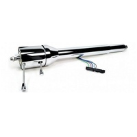 "IDIDIT 32"" RHD COLLAPSIBLE TILT STEERING COLUMN ID1250320020 FLOOR SHIFT CHROME"