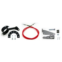 "Ididit ID2802350010 Cable Shift Linkage Kit For 2-1/4"" Ford Stock Column C4 Transmission"