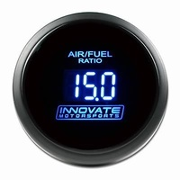"INNOVATE MOTORSPORTS DB-BLUE 2-1/16"" AIR/FUEL RATIO GAUGE IM3793 NO SENSOR"