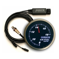 "G3 Air/Fuel Rastio Gauge Kit - Black Face (2-1/16"" With LC-2 Wideband Controller & O2 Sensor) (IM3802)"