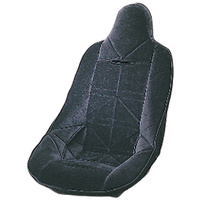 JAZ BLACK VELOUR SEAT COVER JAZ150-104-01 SUIT PRO STOCK SEAT