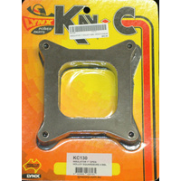 "KAY-C 1"" INSULATOR/SPACER OPEN PLENUM HOLLEY 4BBL SQUAREBORE KC130"