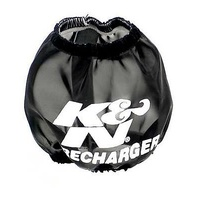 "K&N Filters KN22-8028PK Precharger Filter Wrap 3"" Id Base 2"" Id Top X 3"" H Round Black"