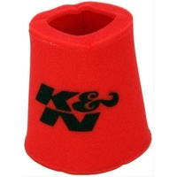 "K&N Filters KN25-0810 Foam Precharger Filter Wrap  Red  6"" Id Base X 5"" Id Top X 9"" H"