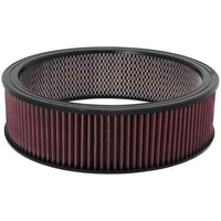 "K&N REPLACEMENT FILTER ELEMENT ROUND 14"" X 4"" KNE-3750"