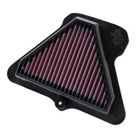 K&N KNKA-1011R Replacement Motorcycle Air Filter (Suit 2011-2013 Kawasaki ZX10R Ninja RACE Specific Only)