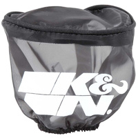 Universal Clamp On Filter Wrap Black (Suit 1991-2000 Triumph Trident Daytona Trophy) (KNRU-2780DK)