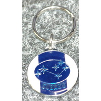 SUBARU KEY RING 3 PACK 29MM DIAMETER KR60 X3